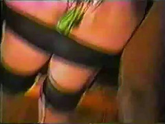 Smutty interracial BDSM sex with a kinky cheating wife