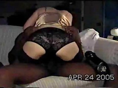 Horny black man is pounding this lonely wife hard