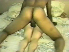 Beautiful blonde milf accepts a black dick inside her