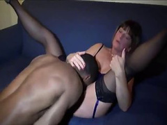That black dick tastes and feels great inside her pussy