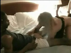 Blonde mom still loves the taste of a black dick