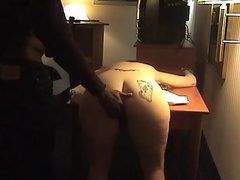 Kinky wife likes to get caned and fucked by a black man