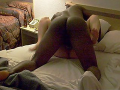 Dirty wife likes to feel a huge black sausage in her cunt