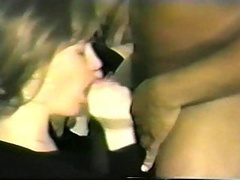 She licks that black cock like a professional and rides it like one